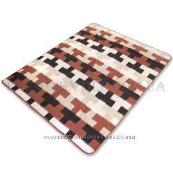 Одеяло шерстяное жаккардовое VLADI 170х210 БАМБУК