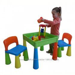 Функциональный детский столик и стульчики Tega Mamut. В наличии