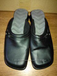 Женские кожаные Туфли Сабо Шлепки Тапки Клоги фирменные из США Кожа р-р 38