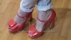 Туфельки с бантиком
