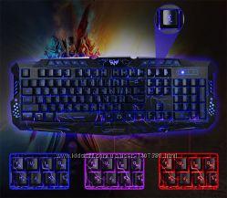 Клавиатура с 3 видами подстветк