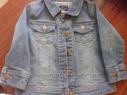 Джинсовый пиджак на девочку MINOTI