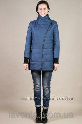 Приталенная весенняя куртка