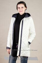 Весенняя женская стеганная куртка