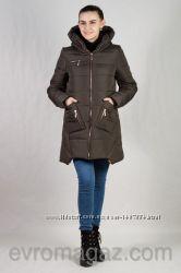 Зимняя молодежная женская куртка - парка