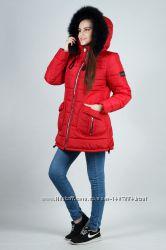 Зимняя молодежная женская куртка