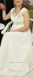 Нарядное вечернее свадебное платье