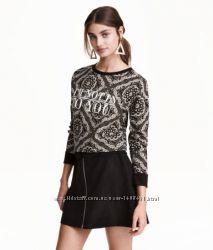 Свитшот H&M с орнаментом