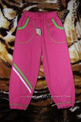 Спортивные штаны для девочки на рост 98-104 Украина