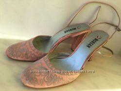 Шелковые туфли от французкого бренда Morgan