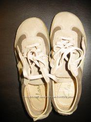 Практически новые туфли туфлі Clarks нат. кожа