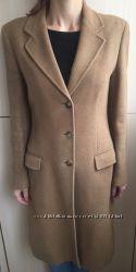 Классическое пальто из шерсти и шелка Италия ENZO FUSCO