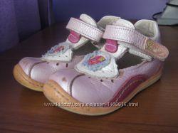Кожанные кросовки PAFI CLUB 22 р. на девочку