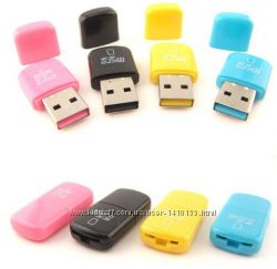 USB Кардридер для карт памяти microSD, TF