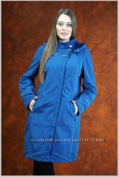 Пальто демисезонное женское большие размеры