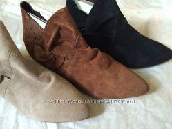 Ботинки замшевые размеры в наличии