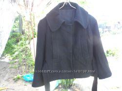 Кашемировое пальто, очень интересный покрой
