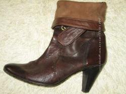 Ботинки--Кожа--Италия--37р.