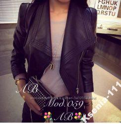 Модная куртка эко кожа супер новинка Реал фото