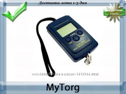 Весы кантер 40кг, встроенный термометр