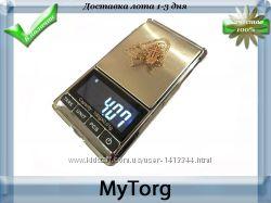 Высокоточные ювелирные весы 100гр 0. 01гр  с чехлом.