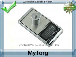 Портативные электронные весы 500 гр шаг 0, 01 гр