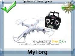 Квадрокоптер syma x5c-1 со съемной камерой