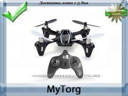 Квадрокоптер hubsan x4 h107l черный цвет