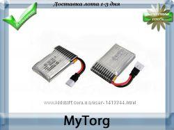 Аккумулятор для квадрокоптеров hubsan x4 h107c, h107d, fy310b