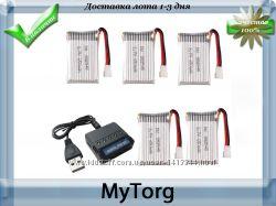 Зарядное устройство  5 аккумуляторов syma x5hw x5hc