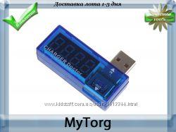 Тестер usв амперметр, вольтметр charger doctor