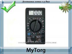Мультитестер цифровой dt-838 с звуковой прозвонкой