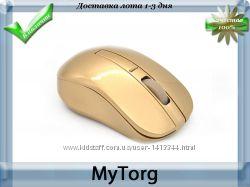 Беспроводная оптическая мышь gold wireless wifi gaming
