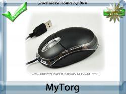 Мышка светящаяся. 800 dpi. порт usb