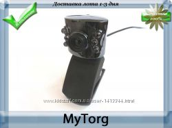 Веб камера с микрофоном и подсветкой. 6 led