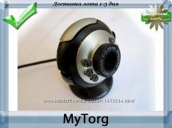 Веб-камера с микрофоном, регулируемая подсветка