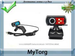 Веб-камера с микрофоном и подсветкой 5mp