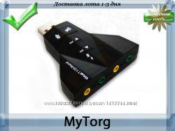 Звуковая карта 7. 1 дельта usb sound card