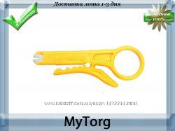 Зачистка изоляции, ключ rj 45 pro 8pk-ct001