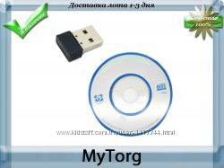 Мини usb wifi сетевой адаптер realtek rtl8188etv 150mbps