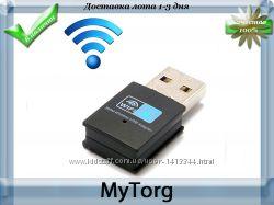 Wifi адаптер 300 мбит usb 2. 0