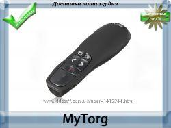 Портативный беспроводной презентер wireless presenter red laser pen