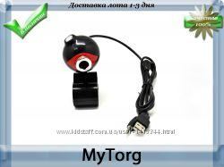 Мини веб-камера ahkuci cmos red and black ball
