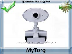 Веб-камера white hd webcam usb 2. 0
