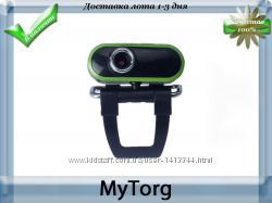 Веб-камера green and black hd webcam usb 2. 0