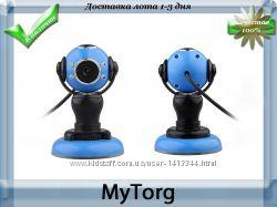 Веб-камера usb 2. 0 blue с микрофоном