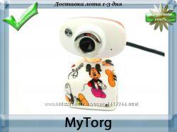 Веб-камера golden-white hd portable webcam