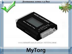 Тестер с жк-дисплеем для диагностики atx  btx  itx блоков питания пк