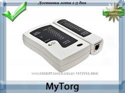 Многофункциональный тестер кабеля ns 46b, rj45, bnc