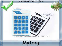 Портативная mini клавиатура для ноутбука 18 клавиш